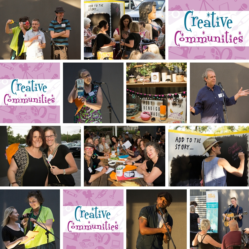 Creative Communities – Thankyou and Next Steps