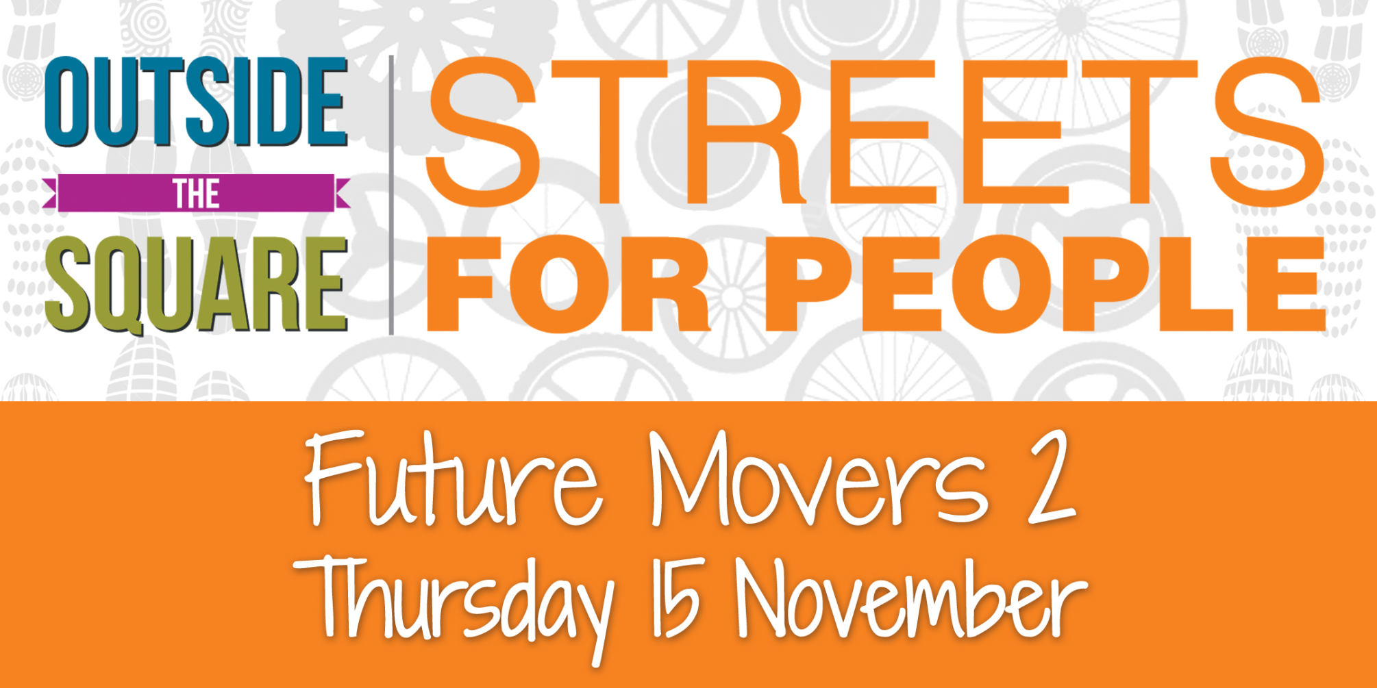 Street for People – Thanks for Caring!