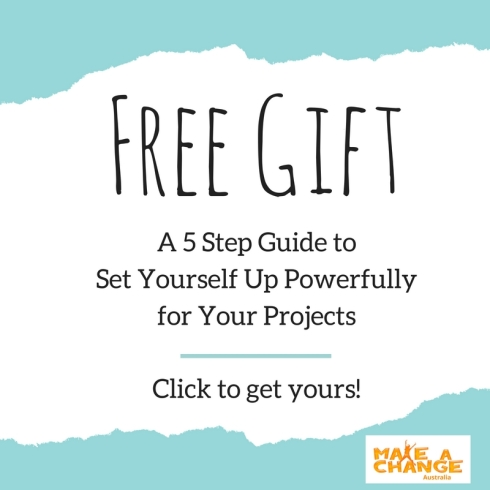 Set Yourself Up Powerfully for Your Projects